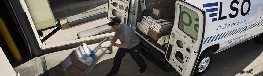 leading regional parcel carrier LSO