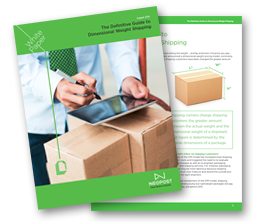 Download the Definitive Guide to Dimensional Weight Shipping