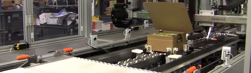 The CVP-500 automated packing solution in action.